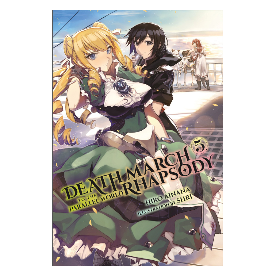 Death March To The Parallel World Rhapsody, Volume 05 (Light Novel) (Illustration by Shri)