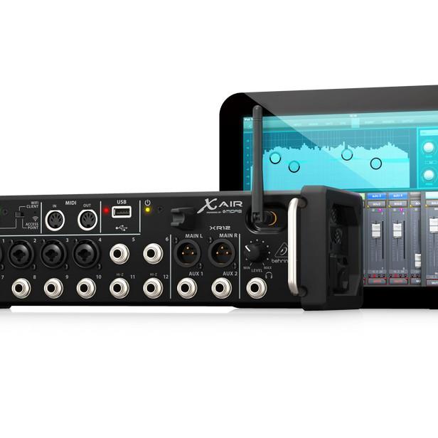 Bộ trộn âm thanh 12 kênh BEHRINGER, model: XR12 nhập khẩu chính thức từ hãng Behringer