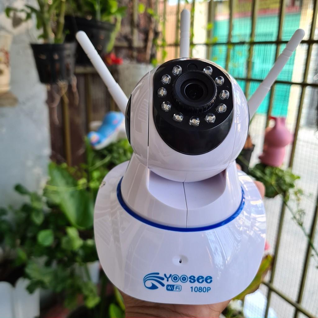 CAMERA YOOSEE 3 RÂU HD1080 - 2.0Mps không cổng mạng LAN XOAY 360 ĐỘ - GÓC QUAY RỘNG - Hàng chính hãng
