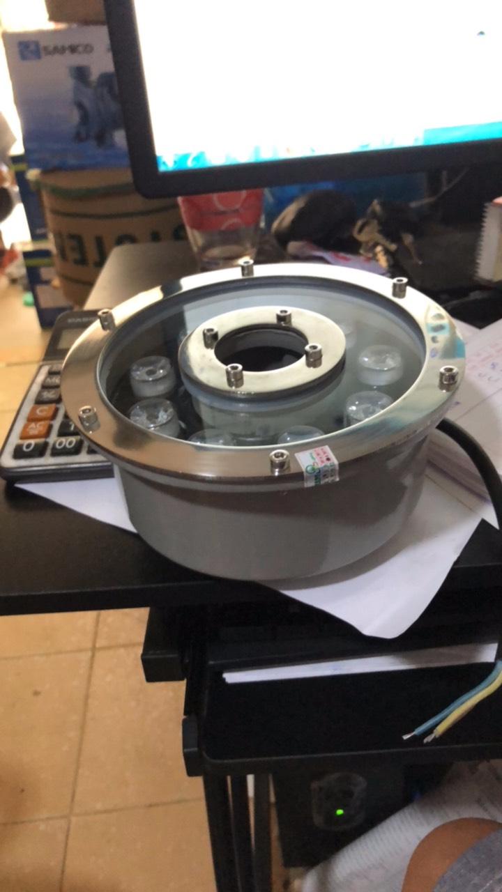 đèn âm nước bánh xe 9w đổi màu