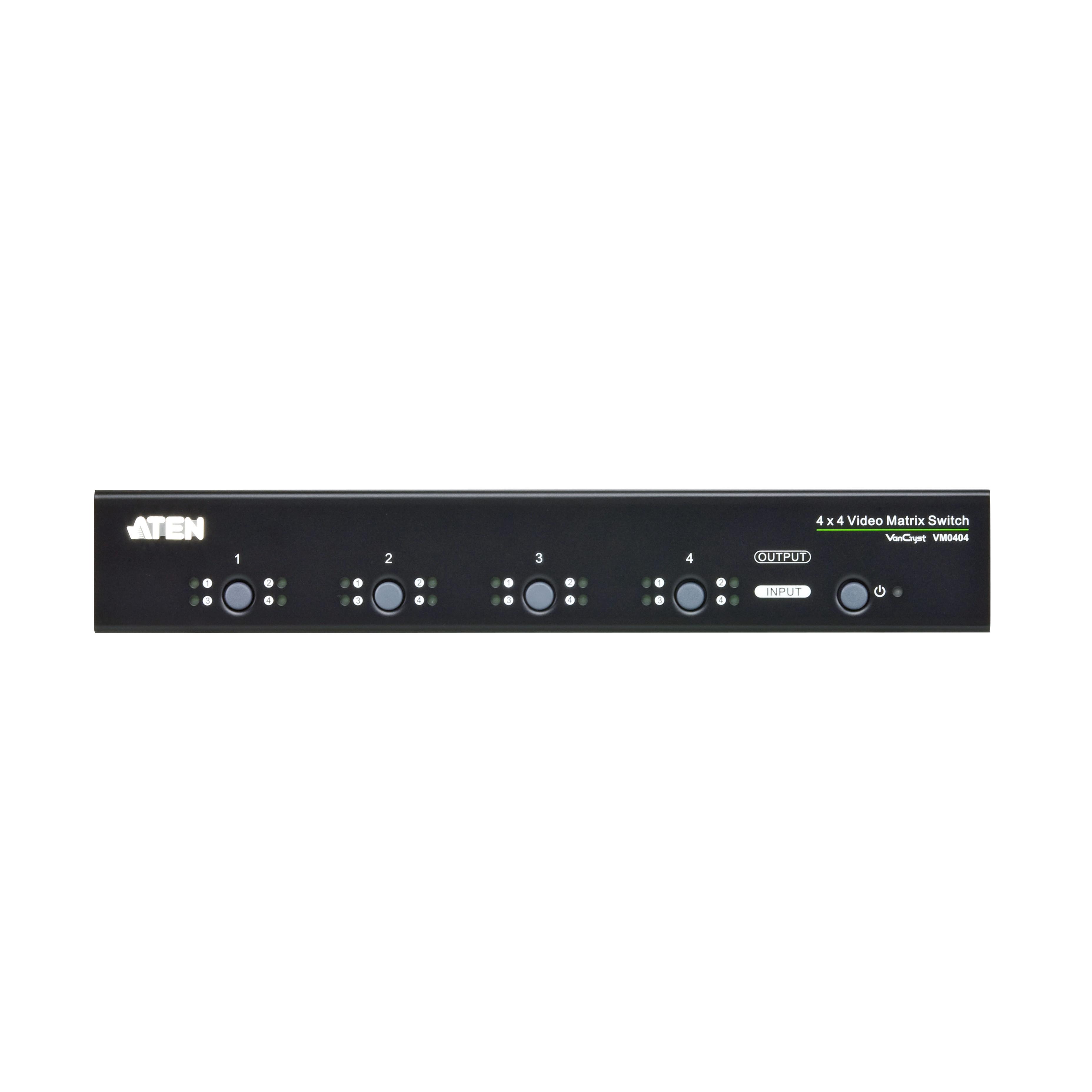 Bộ trộn VGA 4 vào 4 ra 350Mhz Aten VM0404H - Hàng chính hãng