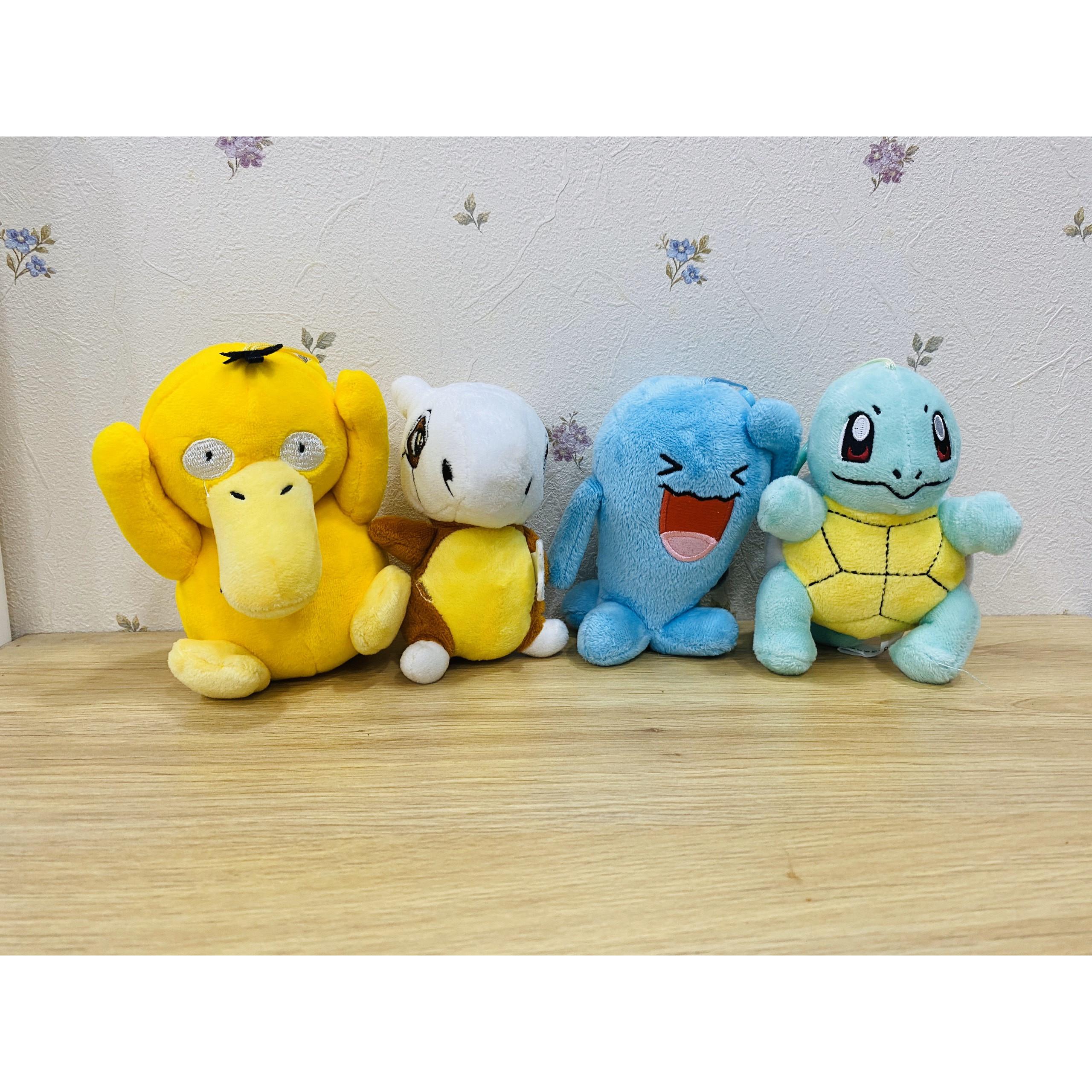 Gấu bông Pokemon Combo 3 hoặc 4 Pokemon móc khóa bất kỳ (8)