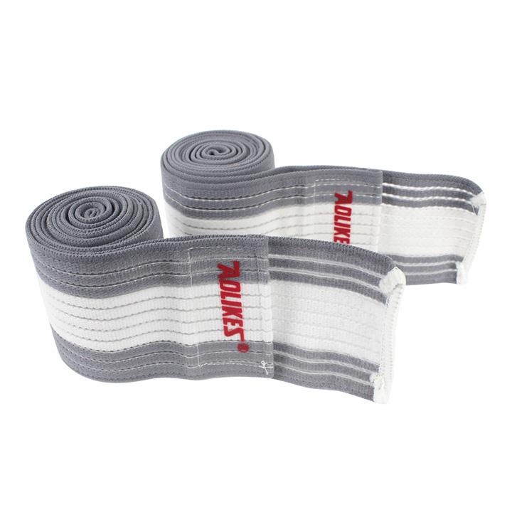 Băng cuốn đàn hồi bảo vệ đầu gối Aolikes AL1516 (1 đôi)