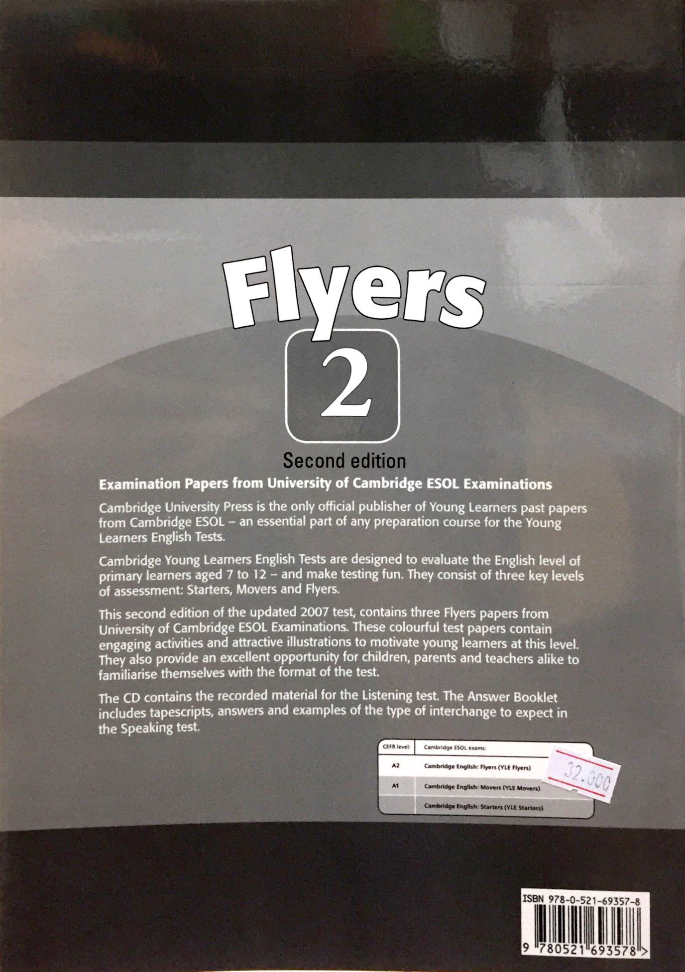 Cambridge Young Learners English Tests 2 Second edition Flyers 2 Answer Booklet