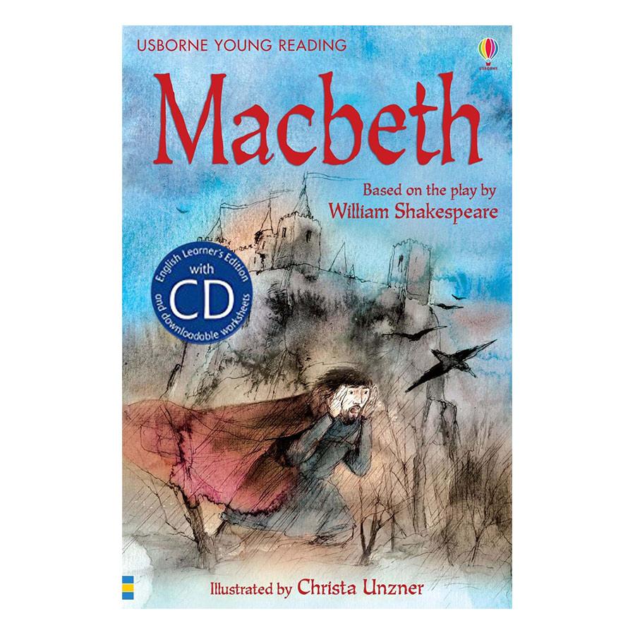 Usborne English Learners' Editions: Macbeth + CD