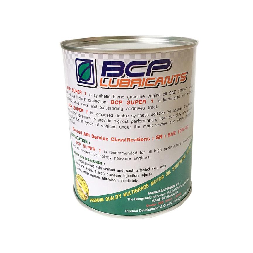Dầu Nhớt Bán Tổng Hợp Cao Cấp Cho Xe Số 4T BCP Synthetic Blend 10w40 Nhập Khẩu Thái Lan (0.8L)