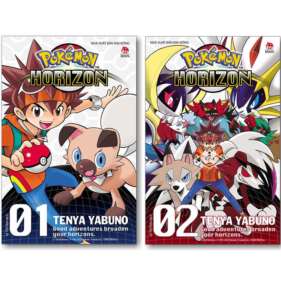 Combo 2 Cuốn: Pokémon Horizon - Good Adventures Broaden Your Horizons (Tập 1 + Tập 2)