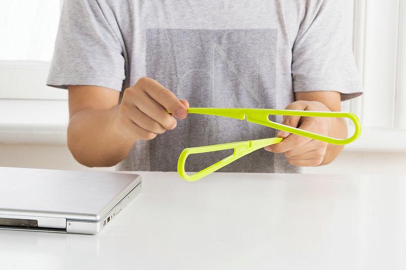 Đế tản nhiệt laptop chữ X xếp gọn ( giao màu ngẫu nhiên )