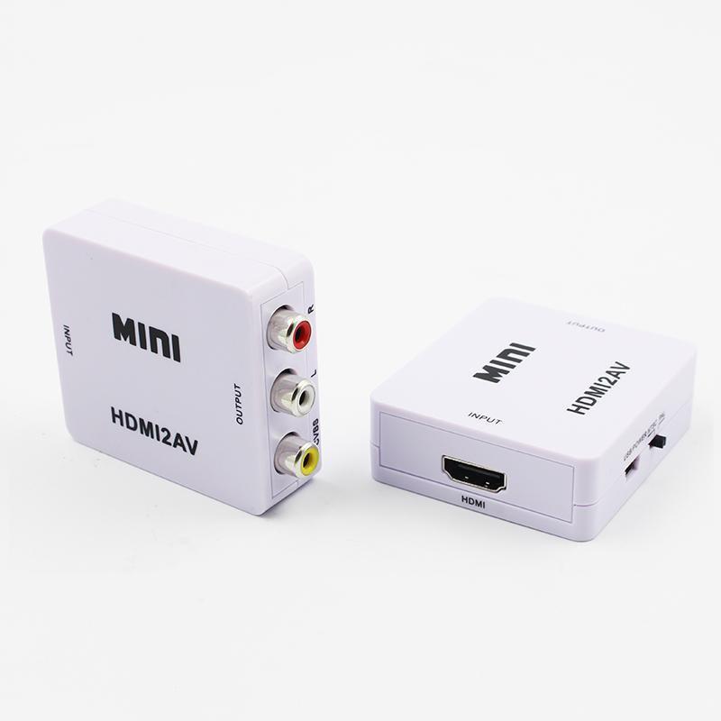 đầu chuyển hdmi,Chuyển đổi HDMI sang 2 AV