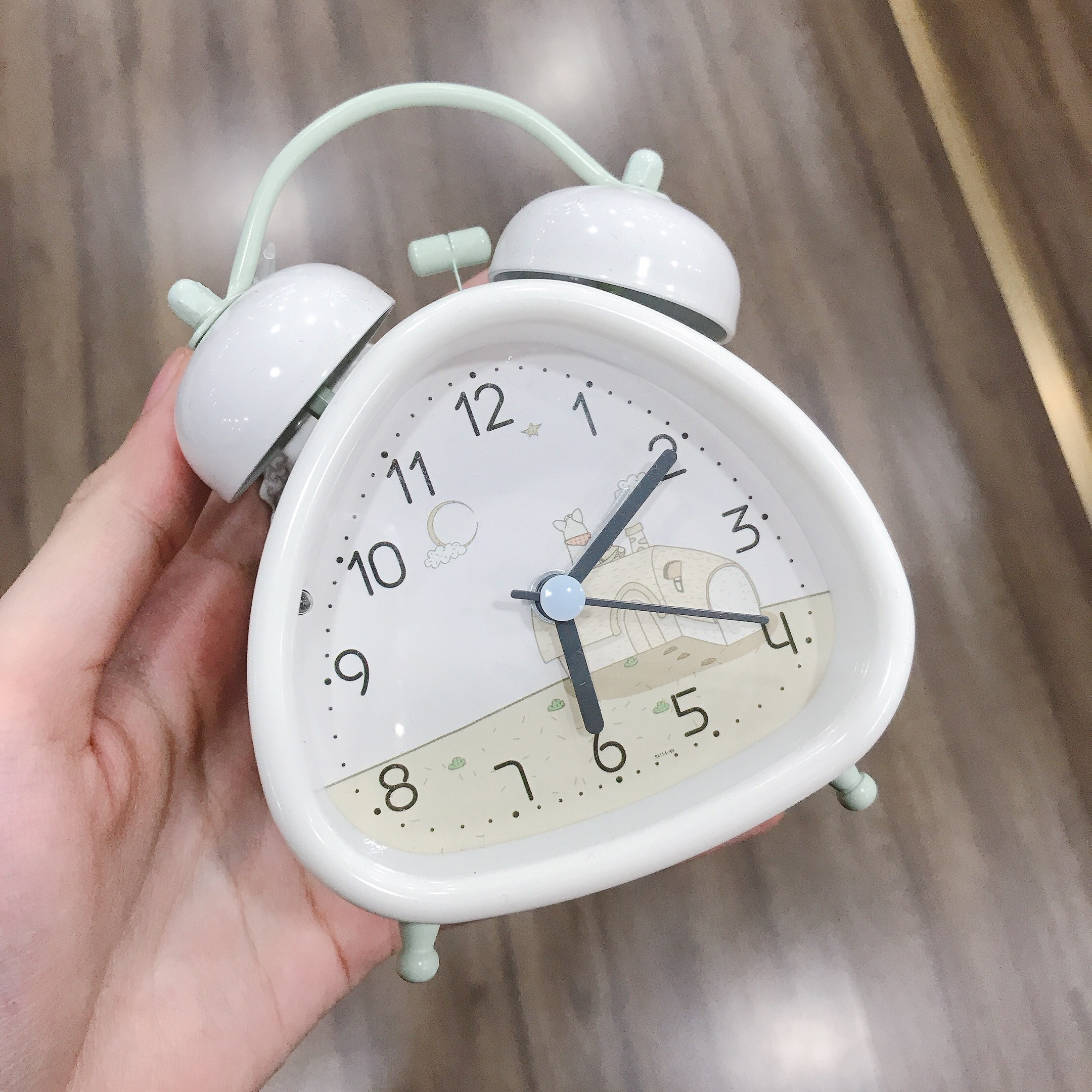 Đồng hồ sắt SA114AH
