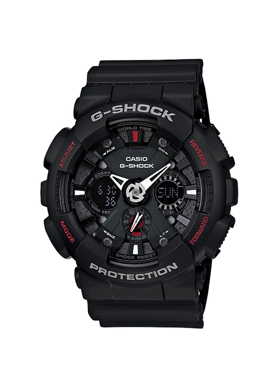 Đồng hồ nam dây nhựa Casio G-Shock chính hãng GA-120-1ADR