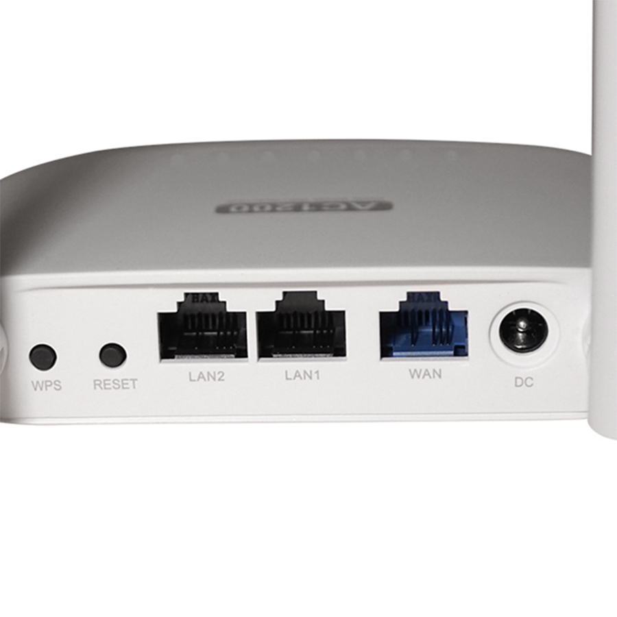Router Wifi Băng Tầng Kép AC1200 APTEK A122e - Hàng Chính Hãng