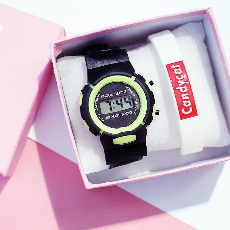 Đồng hồ điện tử trẻ em thông minh LCD Shock Resist DH74