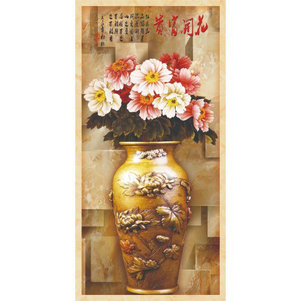 Decal Dán Tường - Tranh Bình Hoa - T3M--2373-copy