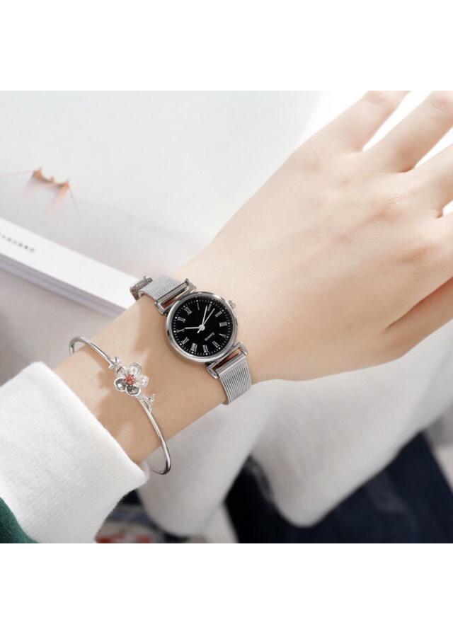 Đồng hồ nữ dây thép nhuyễn cao cấp