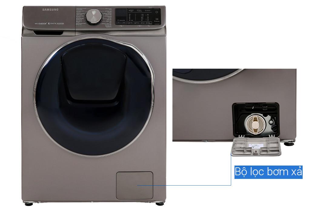 Máy giặt sấy Samsung AddWash Inverter 10.5 kg WD10N64FR2X/SV Mới 2020 - Hàng chính hãng (chỉ giao HCM)