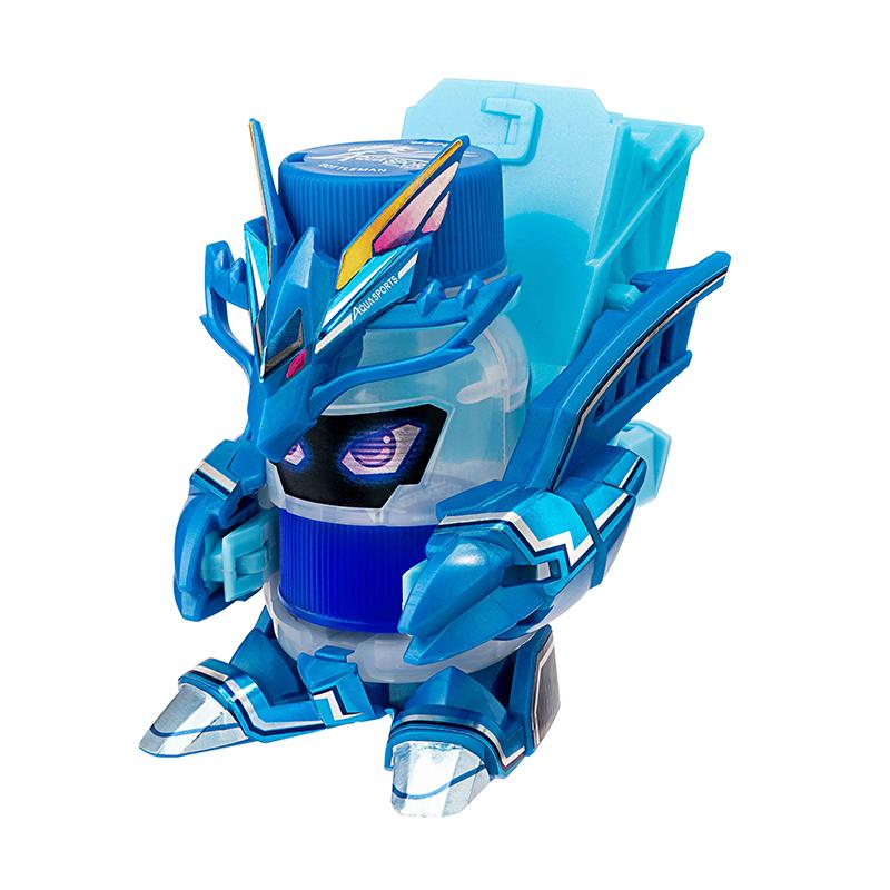 Đồ Chơi Mô Hình BOTTLEMAN Robot Nắp Chai Aquasports Rồng Xanh 172772