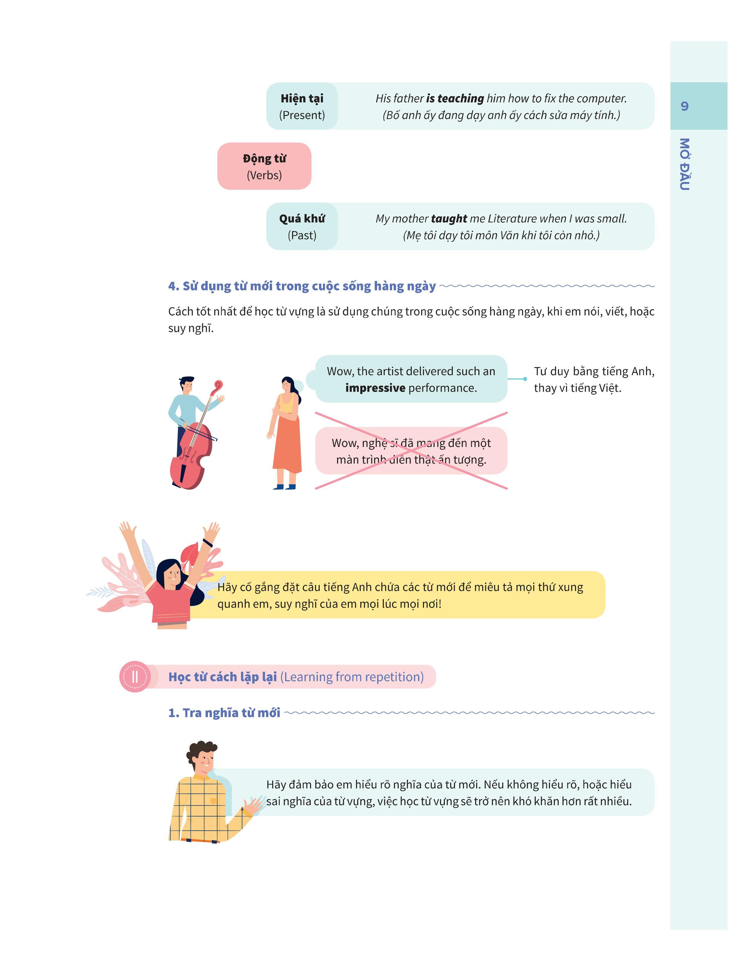 Bí quyết tăng nhanh điểm kiểm tra Tiếng Anh 7 tập 1