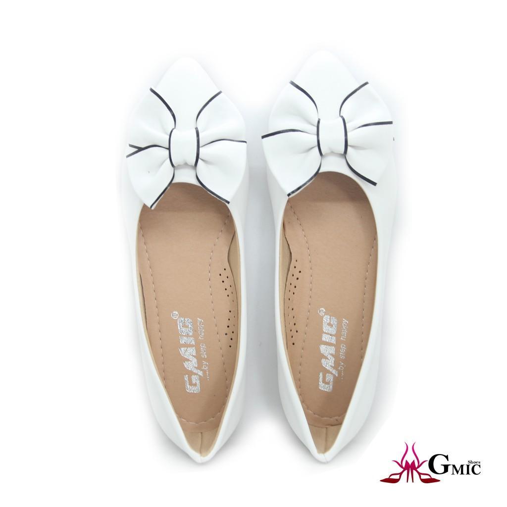 giày búp bê nữ đính nơ