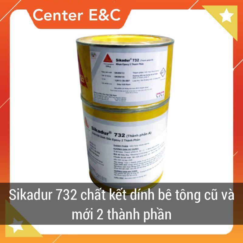 Keo kết nối bê tông cũ và mới Sikadur 732 Bộ 1kg Giá rẻ