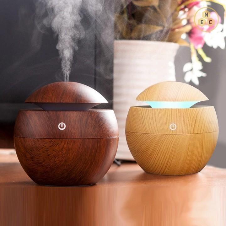 Máy vân gỗ xông tinh dầu, phun sương tạo ẩm  cao cấp