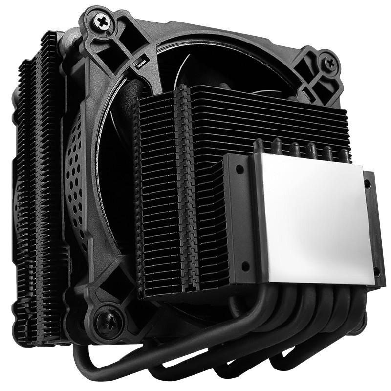 Quạt tản nhiệt CPU thiết kế kép JONSBO CR-301 6 ống đồng đèn RGB - Hàng Chính Hãng