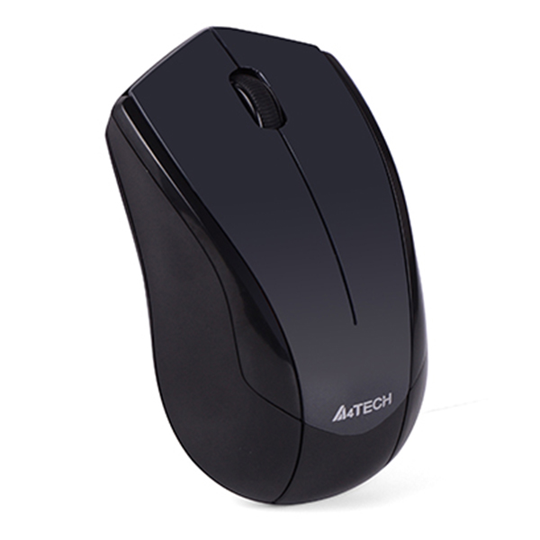 Chuột Không Dây Vtrack A4Tech G3-400N 1000DPI Receiver USB (Đen) - Hàng Chính Hãng