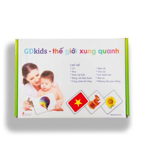 GDKIDS – Thế giới xung quanh Glenn Doman (100 Thẻ Flashcards)