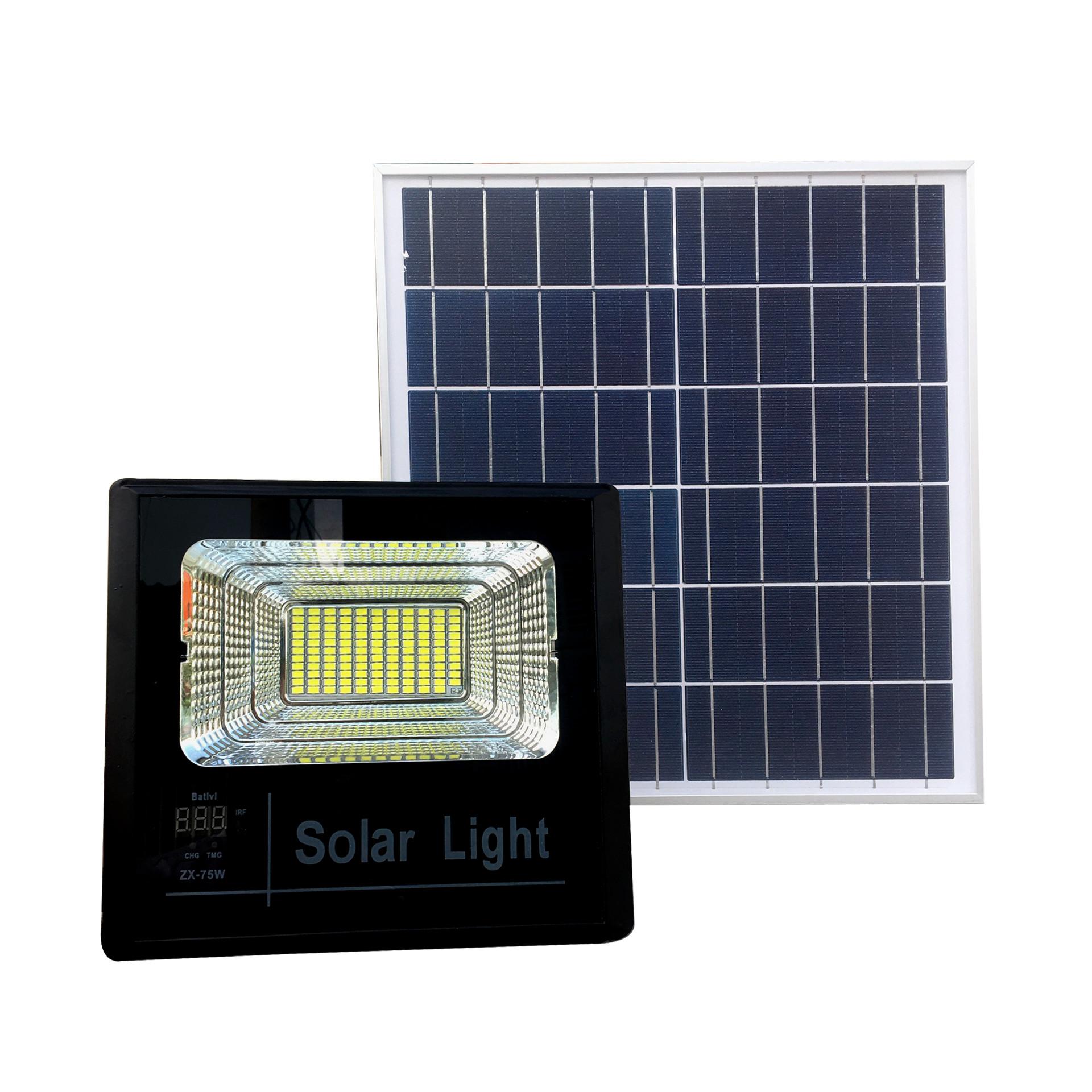 Đèn pha năng lượng mặt trời FL