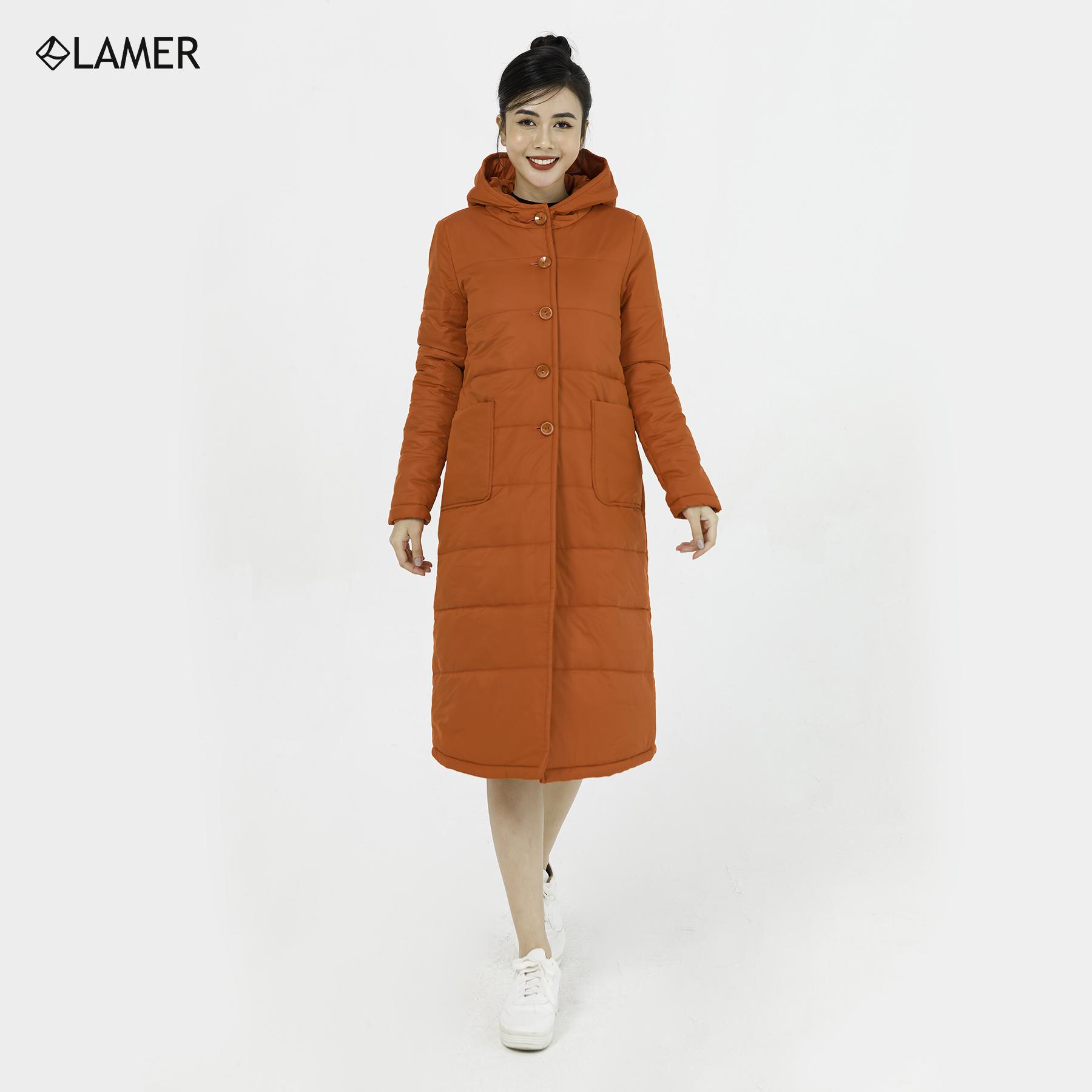 Áo phao mũ túi ốp LAMER L65P18T080