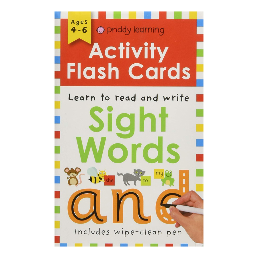 Activity Flash Cards Sight Words - Activity Flash Cards (Paperback)