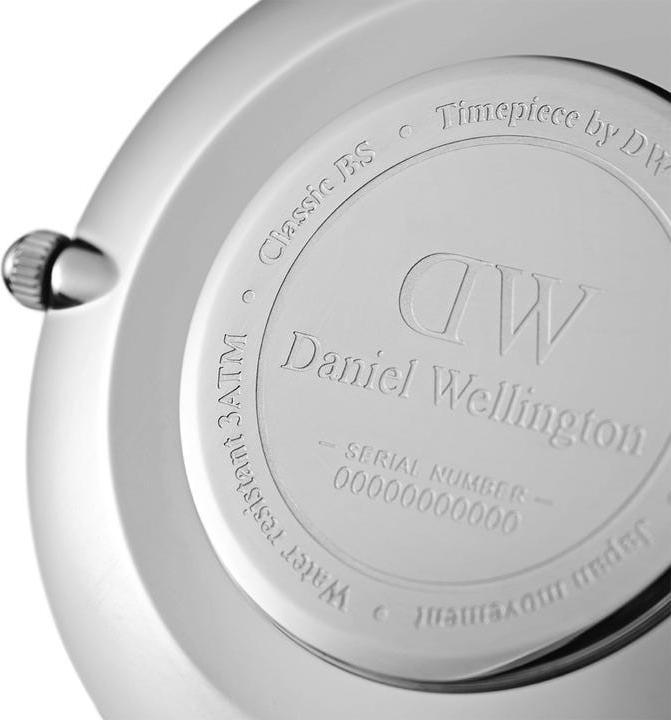 Daniel Wellington Petite Sterling Silver White 36mm DW00100306