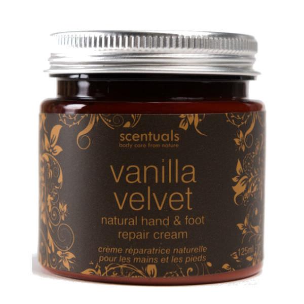 Kem Dưỡng Da Tay Chân Vanilla Velvet Natural Hand & Foot Repair Cream Scentuals (125ml)