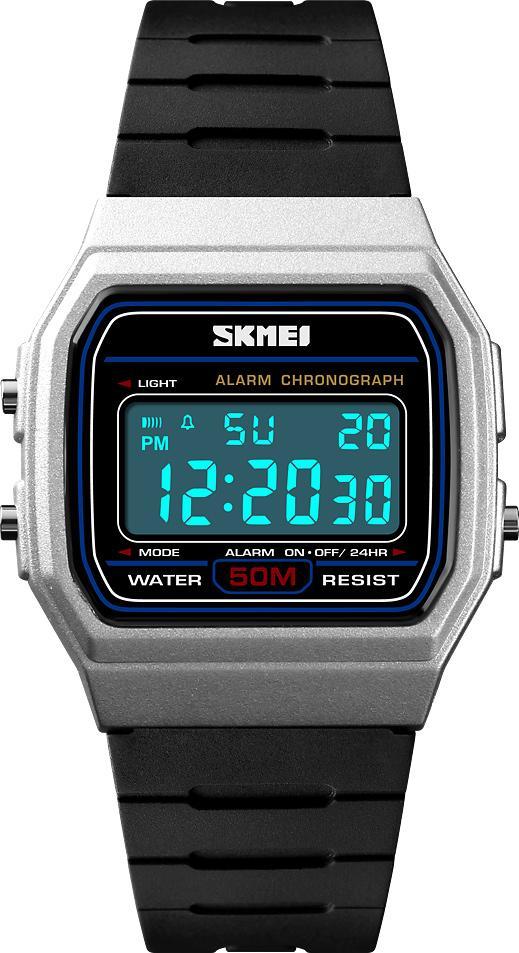 Đồng hồ đeo tay Skmei - 1412SI-Hàng Chính Hãng