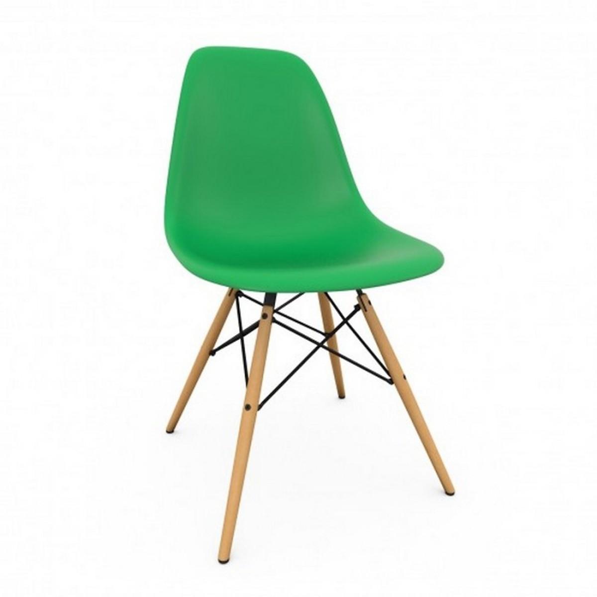 Ghế nhựa chân gỗ E3