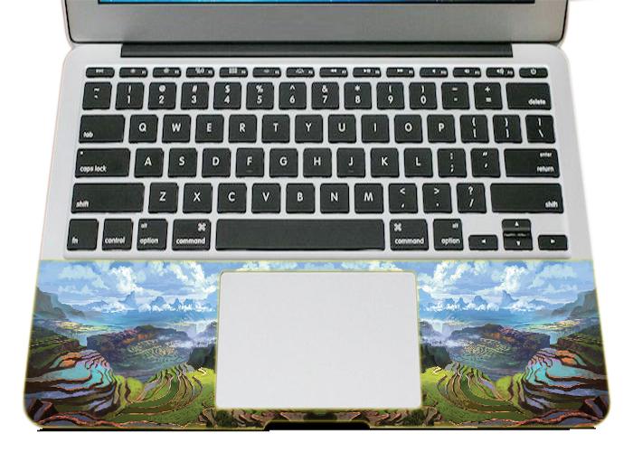 Mẫu Dán Skin Trang Trí Mặt Ngoài + Lót Tay Laptop Thiên Nhiên LTTN - 219
