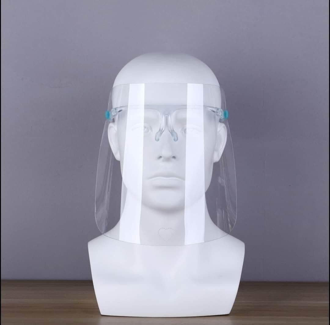 Kính che mặt chống giọt bắn có gọng gương, an toàn, dễ sử dụng
