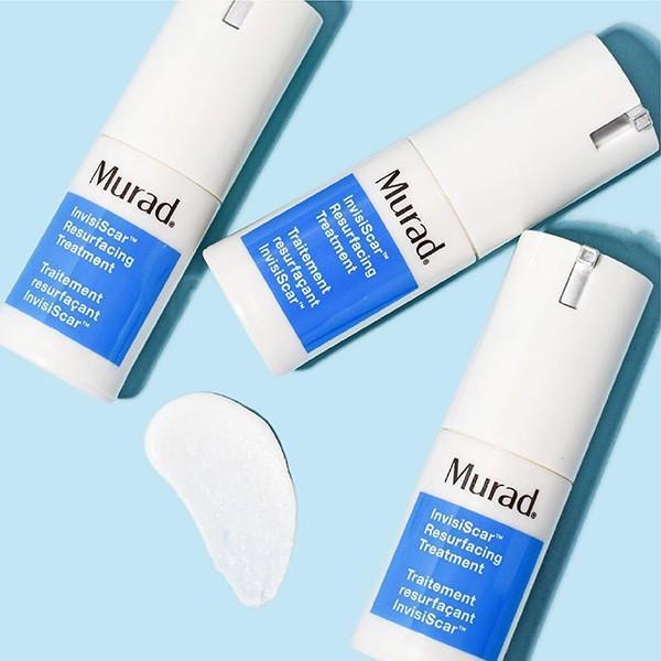Gel giảm sẹo rỗ và thâm mụn Murad Invisiscar Resurfacing Treatment 15ml