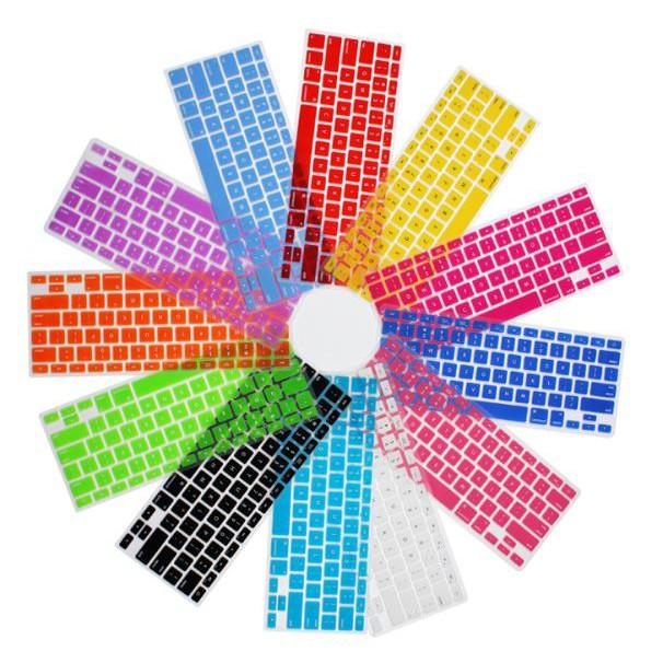 Lót phím silicon châu âu cho Macbook 11/13 nhiều màu