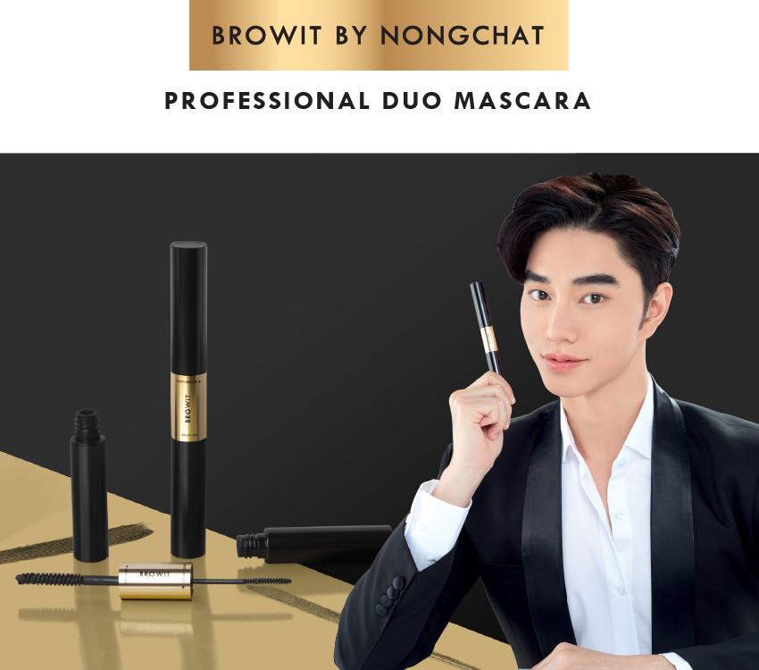 Mascara 2 đầu Browit Professional Duo Mascara 4 + 4g Sexy Black