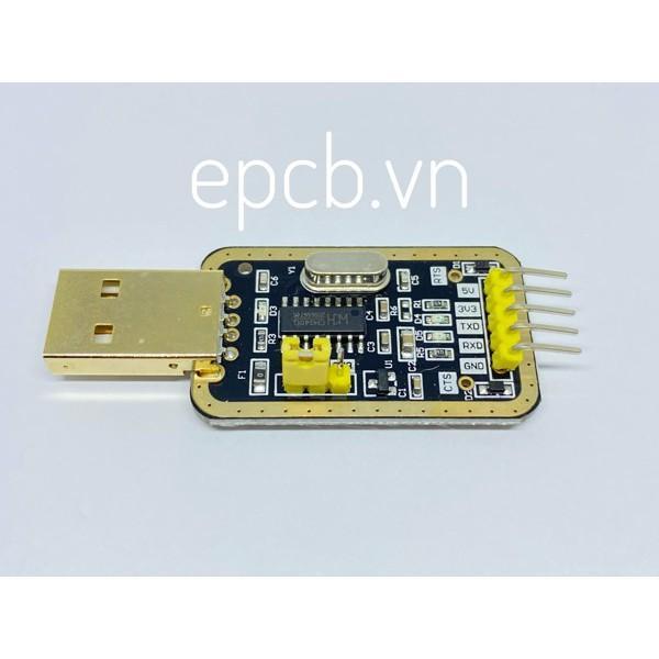 USB UART CH340 mạ vàng( chip CH340)