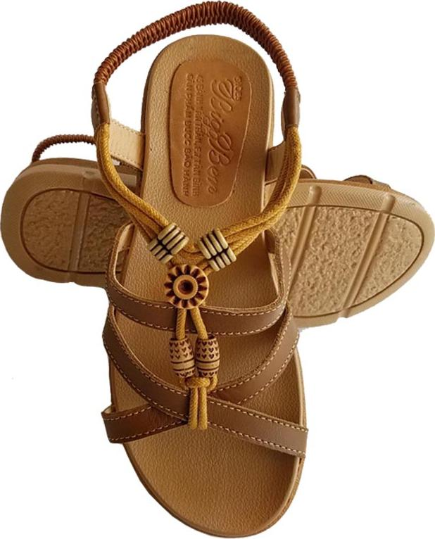 Sandal Nữ BIGGBEN Da Bò Thật SDN08 - 40