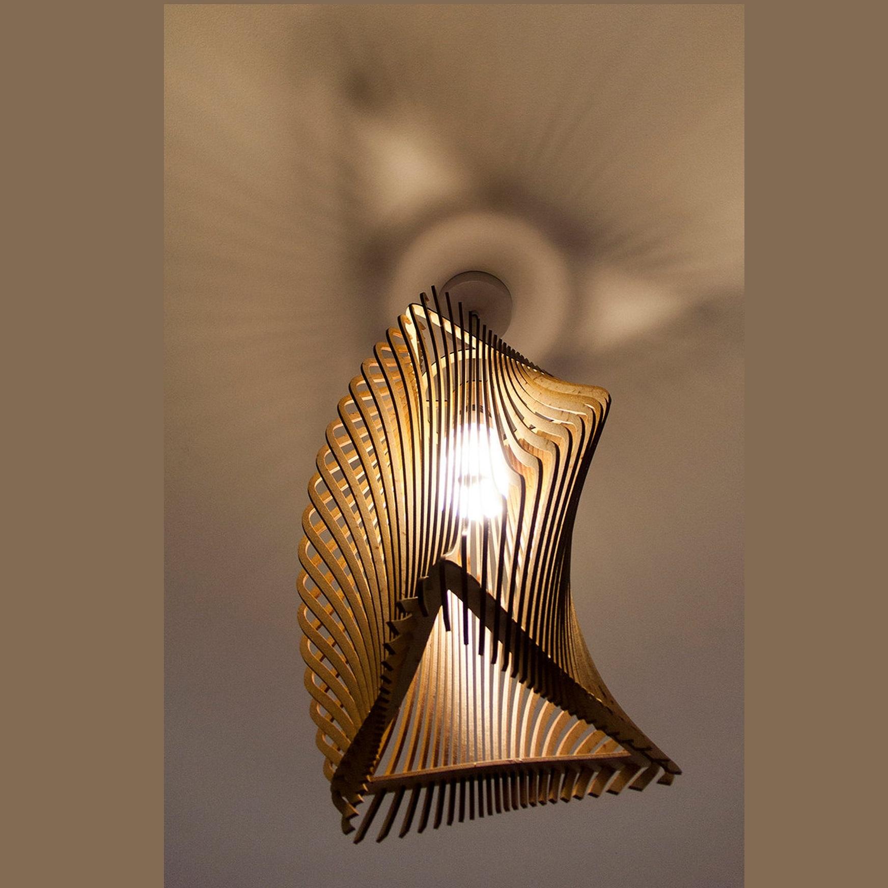 Đèn gỗ thả trần CAO CẤP hiện đại sang trọng chất liệu gỗ trang trí cho phòng khách nhà căn hộ decor nhà quán cafe
