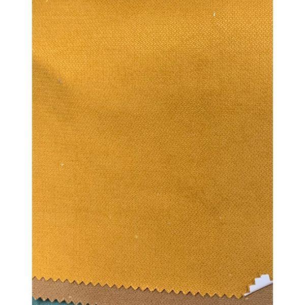 Rèm cửa vải LUCYA18-8 có thanh treo hợp kim nhôm màu gỗ đầu nhọn - cao cố định 1m4