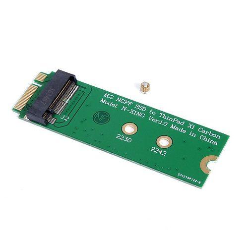 Adapter Chuyển Đổi SSD M2 NGFF To X1 Carbon