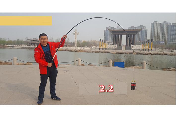 Cần câu cá cho người mới học câu - Tặng kèm cước simano 100m DCC09 ( Màu ngẫu nhiên )