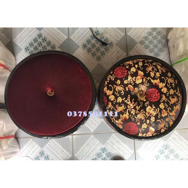 Giỏ ủ Bát Tràng hàng gấm S1