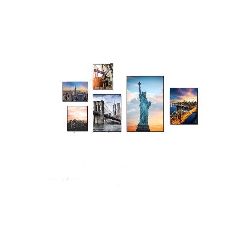 Bộ 6 Tranh Thành Phố New York