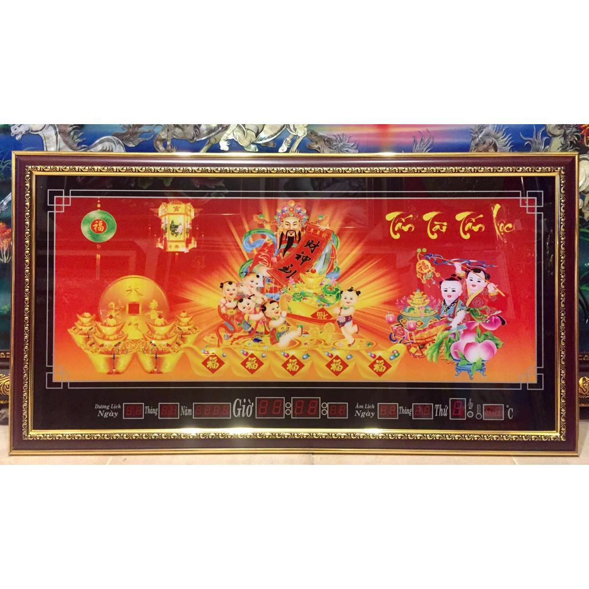 Tranh lịch vạn niên , Thần Tài - 649