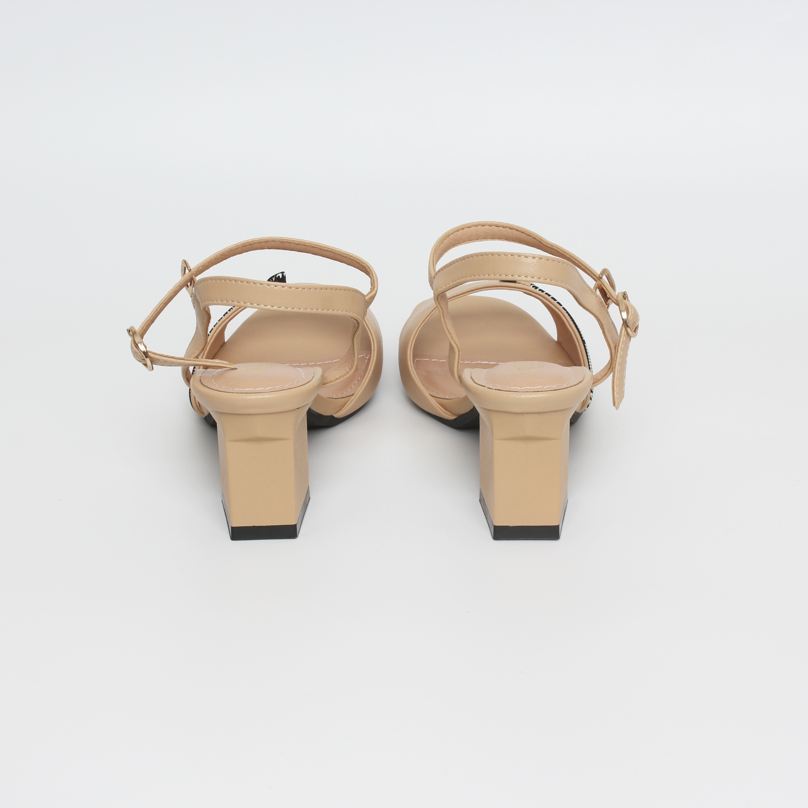 Sandal Nữ, Sandal Cao Gót 5cm Thương Hiệu Giày Huy_SDTD8014